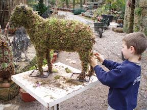 idée : GUILLAUME qui végétalise un mouton