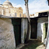 3. Monks' Cells. Ethiopian Orthodox Monastery on the Roof of the Church of Holy Sepulchre. Old City of Jerusalem