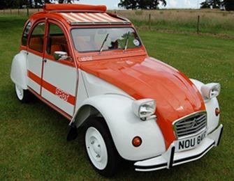 Citroën 1976 2 CV Spot