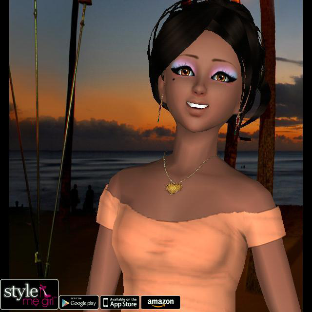 Style Me Girl Level 57  - Tiki Party - Renee