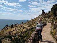 Isla Taquile on Lake TIticaca