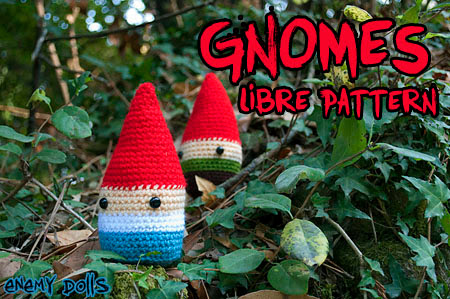 Gnome amigurumi easy free pattern - Enemy Dolls