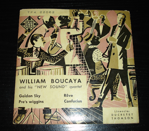 VILLIAM BOUCAYA  .. vinilo años 60