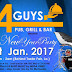 EVENT: 4 Guys Bar & Grill New Year Party
