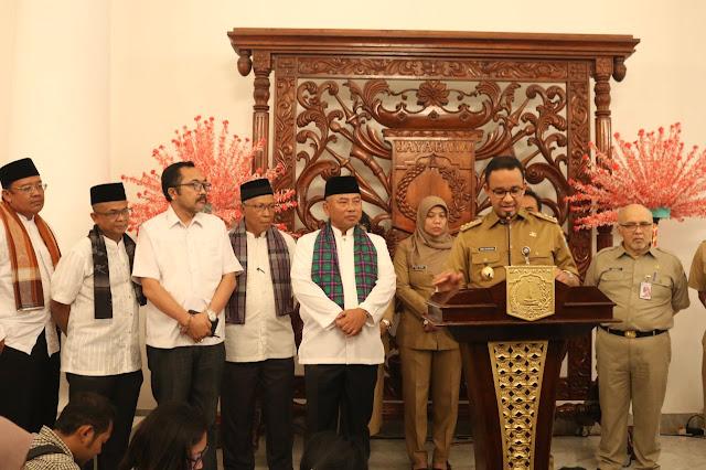 Walikota Bekasi Temui Anies Baswedan Bahas Sampah Bantar Gebang