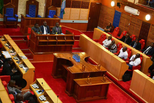 Kilifi county assembly as members debates on sports county allocation. PHOTO | FILE