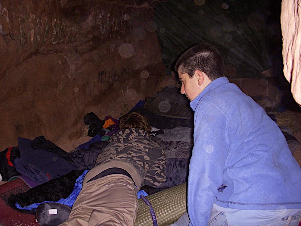 Sortida Castell Eramprunyà - Pioners 2009 - DSCN1043.JPG