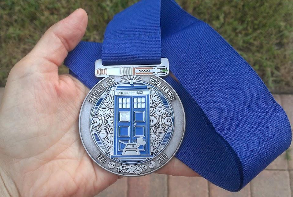 Doctor Who Half Marathon Medal