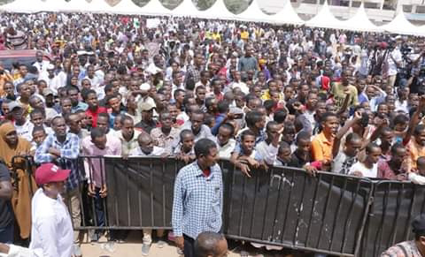 BBI rally in Garissa.  PHOTO| BMS