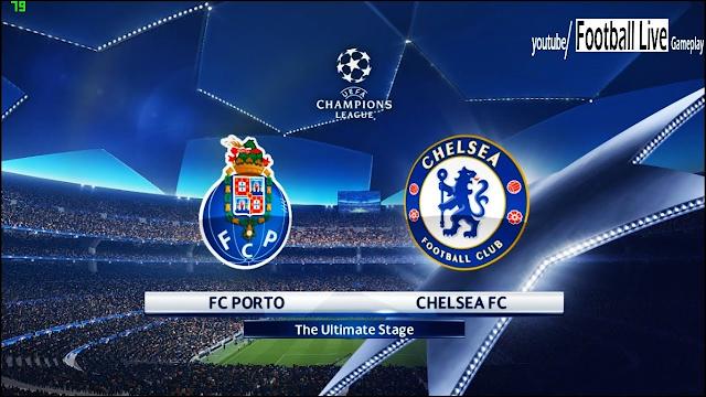 Watch Live Stream Match: FC Porto vs Chelsea (UEFA CHAMPIONS LEAGUE)