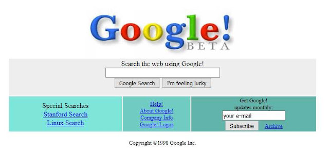 جوجل 1998