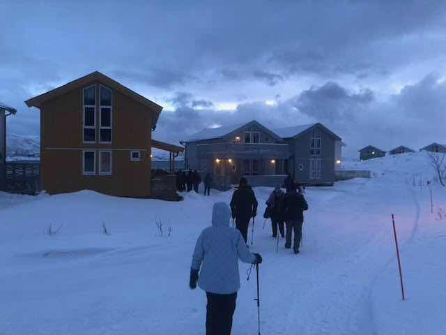 Resident Astronomers take a little hike in Sommaroy