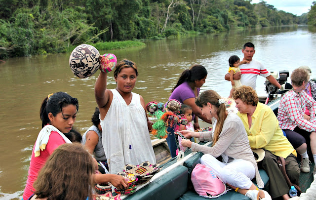 Fair trade products in the Peruvian Amazon. From How to Shop Online To Give Back to Global Artisans