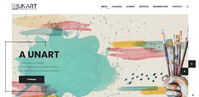 Novo portal da Unart expõe trabalhos de artistas patenses