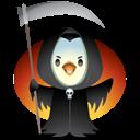 Pingüino Halloween - La muerte
