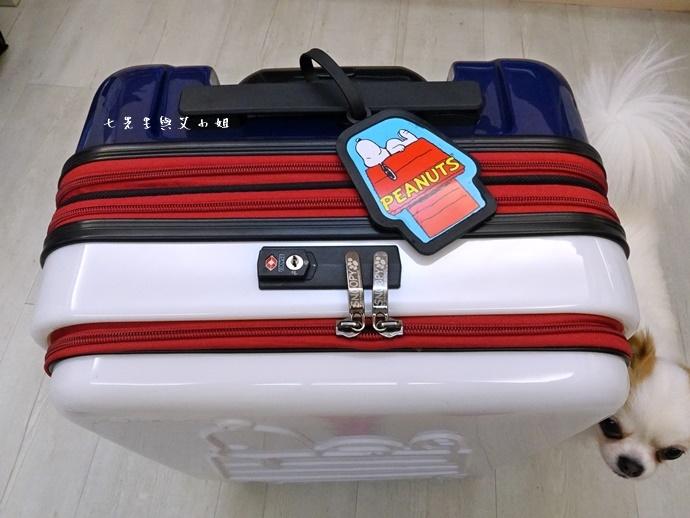 8 史努比登機箱 關西空港 關西旅遊 大阪旅遊 必買 戰利品