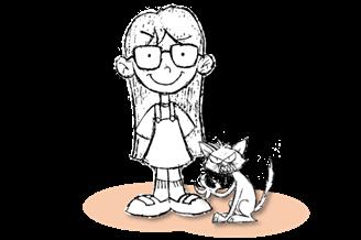 Bruna e o Gato