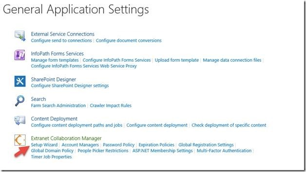 Extranet Collaboration Manager (ExCM) for SharePoint 2013