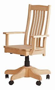 Solid Maple Office Chairs