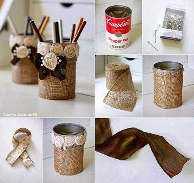 Manualidades para tu hogar material resiclado - Manualidades para decorar el hogar ...