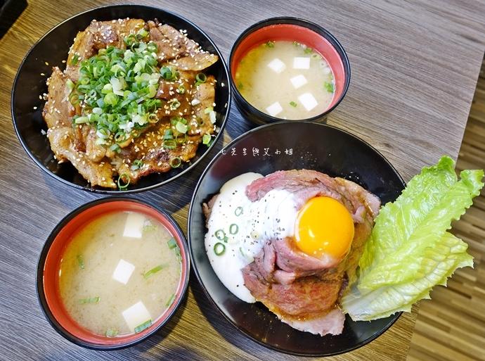 7 山丼 玫瑰和牛丼 岩石牛排丼 碳烤豚肉丼 辣子雞肉丼 公館美食 日式丼飯