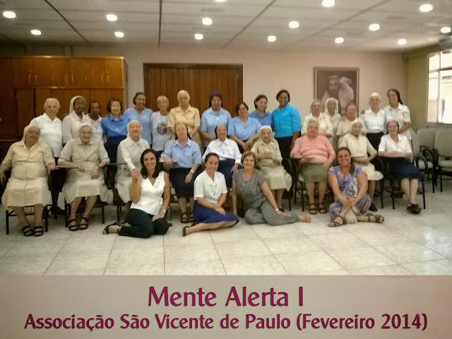 Mente Alerta 1 - Associacao Sao Vicente de Paulo (Fevereiro 2014)