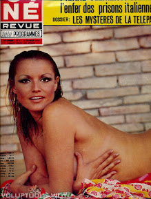 Magda Konopka French Magazine Cover Cine Revue