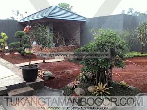 Jasa Tukang Taman, Kolam, Gazebo -1- Pembuatan Taman Belakang Rumah