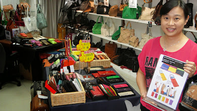 Photo: Leather goods Hong Kong. www.leatherbags.asia