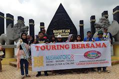 Wisata Bersama Media Nuswantoro Pos Dan LSM Laskar Suramadu Jawara Di Telaga Sarangan Magetan Jawa Timur