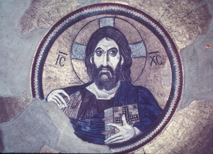 παντοκράτωρ Κύριος Χριστός,humanoid Christ,ape,nephelim.