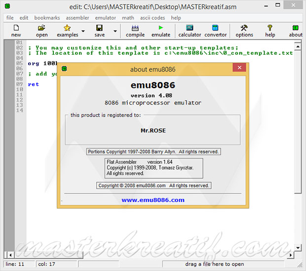 emu8086 4 08 Full Crack | MAZTERIZE