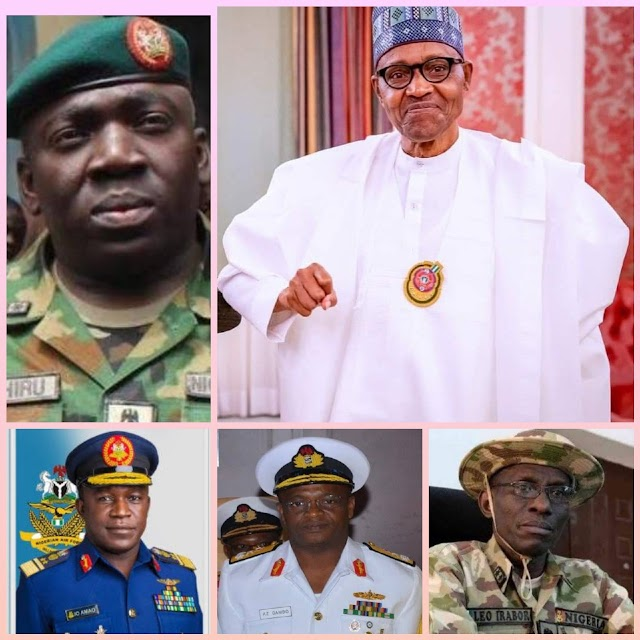 The Biblical Illustration Of The Security Situation Of Nigeria And Buhari's New Service Chiefs ~Omonaijablog