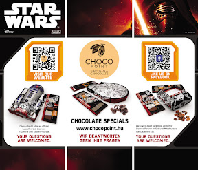 Arculattervezés és reklám plakát tervezés a Chocopoint kft.-nek