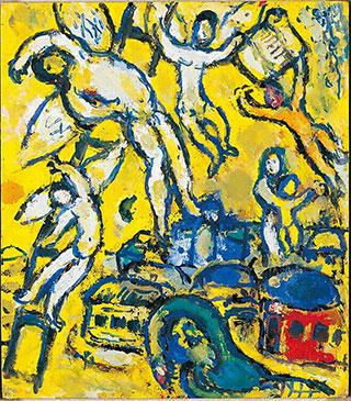 Марк Шагал. Мечта Якова.