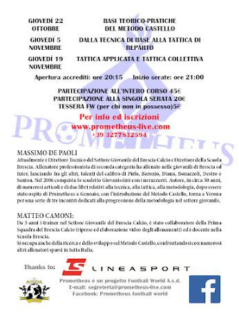 Massimo De Paoli a Verona per un clinic dedicato agli allenatori del Giovanile