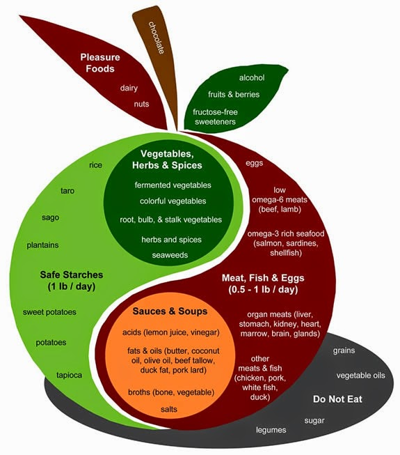 Perfect Health Diet infographic