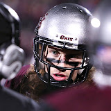 Intensity on the Griz sidelines.