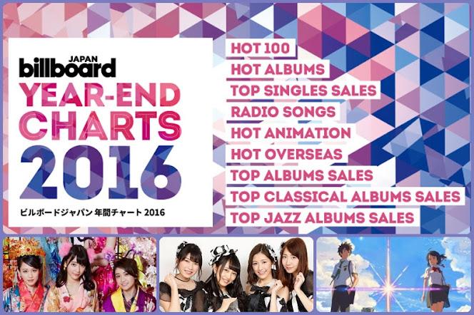 [Billboard JAPAN Year-End Charts 2016] AKB48 และ Kimi no Na wa มาวิน!