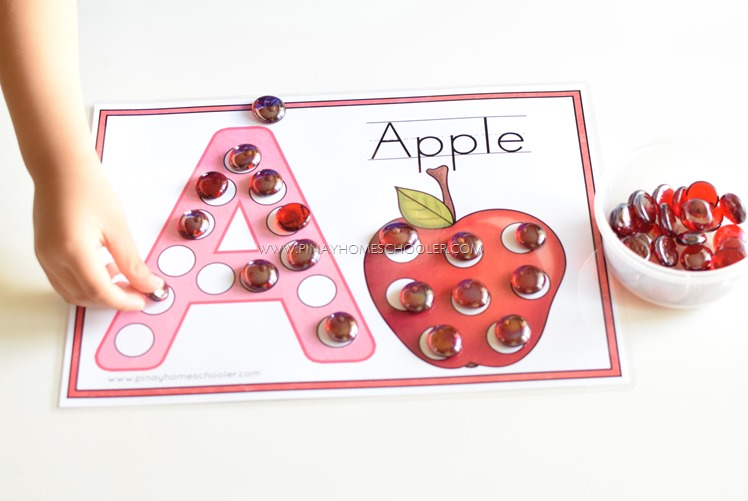 FREE Letter A Dot and Tracing Activity Sheets