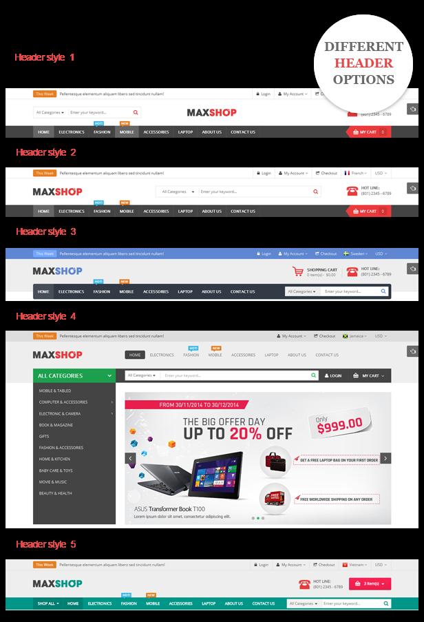MaxShop - Theme Wordpress bán hàng đa năng