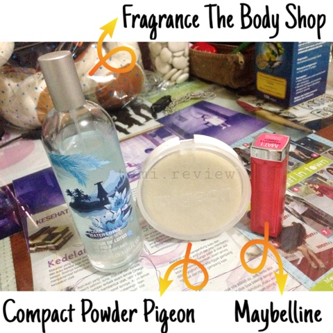 [REVIEW] Maybelline Color Sensation, Compact Powder Pigeon, Body MistBody Shop