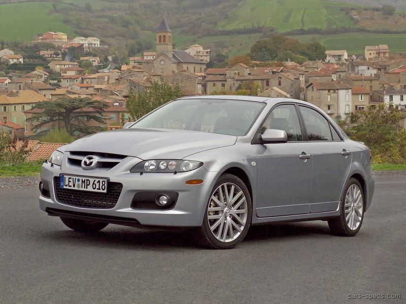 2006 mazda mazdaspeed mazda6 sedan specifications. Black Bedroom Furniture Sets. Home Design Ideas