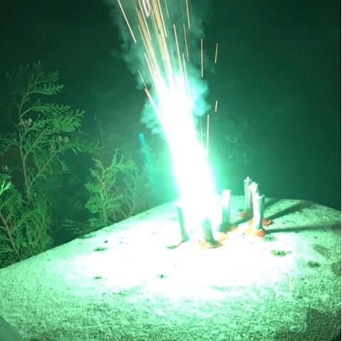 Minifeuerwerk