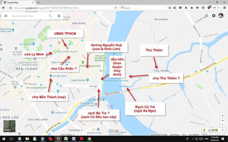 Về cái tên nguyên thủy của chợ Bến Thành Sài Gòn