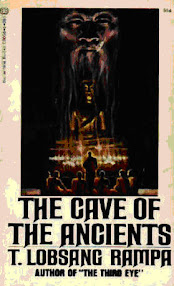 Cover of Tuesday Lobsang Rampa's Book The Cave of the Ancients