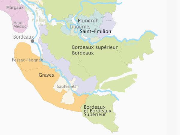 Виноградники Bordeaux и Bordeaux Supérieur - вина Бордо - описание, с чем лучше сочетать. Гид по винам Бордо и Франции, путеводитель по Бордо.