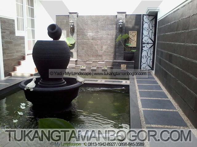 Tukang Kolam Jakarta Murah & Profesional - Contoh Kolam Relief Ornamen Dinding