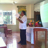 Abel Can, District Missions Director, speaking about team ministry
