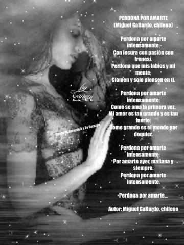 Desde Mi Corazón A Tú Corazón Perdona Por Amarte Autor Miguel